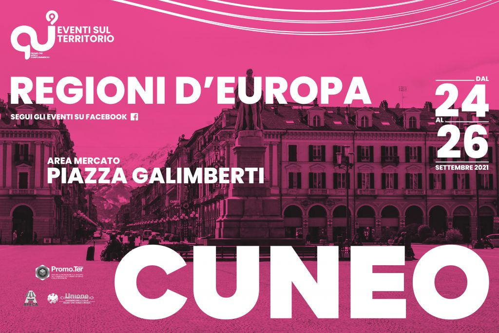 Regioni d'Europa - Cuneo
